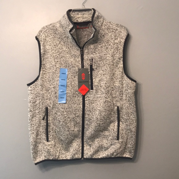d951053ffbb7d Free Country Other - Free Country Men s L Sweater Fleece Vest Pumice